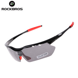 Deutschland ROCKBROS Radfahren Sonnenbrille Polarisierte Bike Brille Männer Frauen Sportbrille Winddicht 5 Objektiv Zyklus Brillen Jogging Fahrrad Gläser cheap jogging sunglasses Versorgung