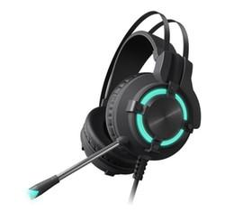 juegos de computadora geniales Rebajas Juego video auricular auricular computadora computadora universal tipo de auricular conector de auriculares diámetro USB Color negro Fresco