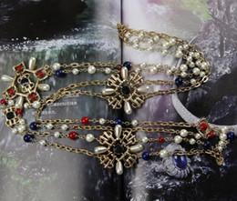 Европа и Соединенные Штаты моды темперамент дикий ожерелье многослойная двойное металлическое ожерелье аксессуары для одежды цепи свитера от