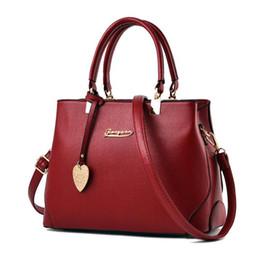 Wholesale Small Mother Bag - 2018 New Mobile Simple Mother Bag Single Shoulder Cross Bag Fashion PU Leather Large Capacity Bag