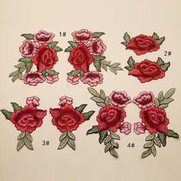 coser parches chicas Rebajas Estilo étnico diy bordado de la flor del bordado mujer chica toalla de tela bolsas de equipaje de tela accesorios del partido de costura exquisito 2cj bb