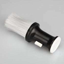 Вырез волос на лице онлайн-Щетка для волос Стрижка шеи Face Duster Clean Профессиональные Парикмахерские Кисти Салон Стилист Парикмахерская быстрая доставка F1370