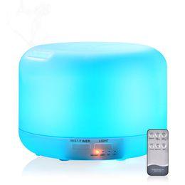 Argentina 300 ml humidificador de aromaterapia control remoto creativo protección ambiental lámpara de fumigación ultrasónica silenciosa máquina de aromaterapia Suministro