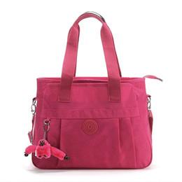 Borse marche cina online-le donne all'ingrosso della Cina hanno bollato le borse di nylon viola