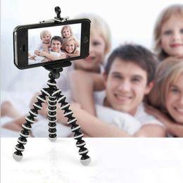 Argentina Trípode de pulpo HENCOOL flexible para teléfono con clip de teléfono Trípode para iPhone 8 7 6 Soporte de cámara Dslr Gopro Xiao Yi 4K SJCAM Suministro