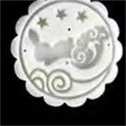 Plástico moldeado a mano online-Patrón de flores Moon Cake Biscuit Mold Set Plástico Mano presionando Mooncake Mold Kitchen Baking Accesorios Práctico 4 2zf C cc