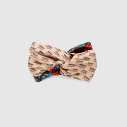 Inviti di seta online-Nuova versione di fascia per capelli incrociati in seta, invito e fascia per capelli stampata