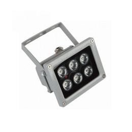 iluminador led camara Rebajas Iluminador LED Lámpara CCTV IR Lámpara infrarroja de visión nocturna AC 85-265 voltios para cámara de seguridad Precio competitivo