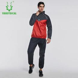77dbee224f26b 2019 sudaderas para hombre Vansydical Sports Suits Men s Fitness Ropa  deportiva con capucha Correr Chaquetas Pantalones