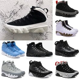 Wholesale Cooler Orange - 2018 New Mens 9 9s Oreo basketball shoes space jam The Spirit Tour Yellow Cool Grey Bred sport Sneakers eur 40-47