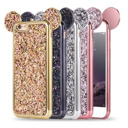 Wholesale Wholesale Bling Cases - Bling Paillettes TPU Case Cover Glitter Shell TPU Case for iPhone 8 Plus iPhone 6S 7 Plus Samsung S8 Plus