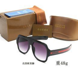 Marchi di moda europei e americani di occhiali da sole polarizzanti, occhiali di plastica, occhiali da sole, occhiali da sole quadrati da viaggio per donna da