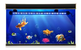 Wholesale rigid led strip rgb - 110V 220V LED Tube Bulb 19cm 29cm 39cm 49cm LED Hard Rigid Strip Bar Light RGB Dive Underwater light Fish Tank Decoration lamp