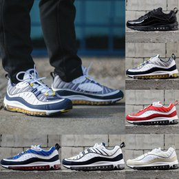 c850ecb74a5 2019 air cushioned basketball shoe Nike Air Max 98 Running shoes Мужские  Кроссовки Air max 98