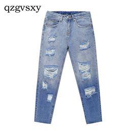 Pantalones Rectos De Harem De Alta Cintura Online  bfdf69cdbb06