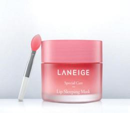 Wholesale Mask Lips - Laneige Special Care Lip Sleeping Mask Lip Balm Lipstick Moisturizing Brand Lip Care Cosmetic 20g