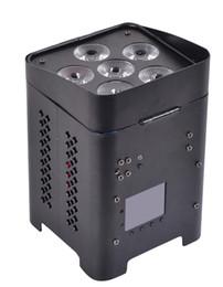 luz de escenario de alta potencia láser Rebajas Venta caliente 6 * 12 w rgbwa + uv 6in1 llevó la luz de la batería par con control inalámbrico dmx512 para dj show de eventos