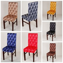 Wholesale Universal Cover Chair - universal home chair cover Universal Party Wedding Chair Covers for Weddings Dining Kitchen Chair Cover Stretch Polyester Spandex BBA20