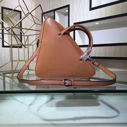 Wholesale Famous Triangles - famous brand handbag 2018 luxury designer triangle women handbag new arrival fashion top handle bag for women