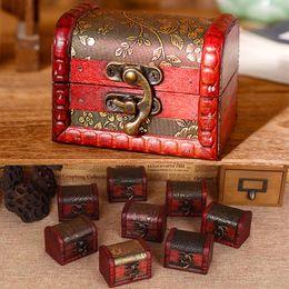 Мини-шаблоны онлайн-Мини-ящики для хранения старинные ювелирные изделия коробка организатор кейс для хранения цветочный узор металлический контейнер ручной работы небольшие коробки HH7-1319