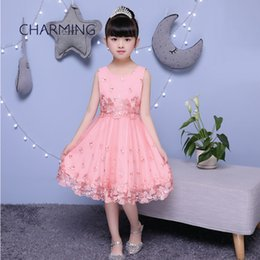 UK Kids dresses for toddler girl Embroidered dress Suitable for school season Graduation show performances knee length dresses DHgate Mobile