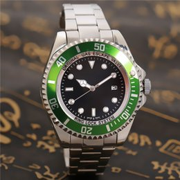Wholesale Sea Dweller 44mm - Hot seller Luxury Men's SEA-DWELLER Ceramic Bezel 44mm Stanless Steel Clasp 116660 Automatic High Quality Business Casual mens Watches