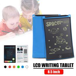 цифровые планшеты для рисования Скидка 8.5 ЖК-планшетный планшет для рукописного ввода Digital Drawing Board Графика Безбумажный блокнот Поддержка экрана Функция очистки