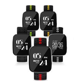 Escolha de crianças on-line-OLED grande sceen V6 Inteligente Wacth projeto À Prova D 'Água 5 cores cinta para a escolha Banda Inteligente para iosAndroid