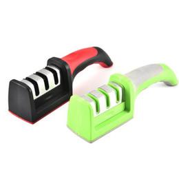 Инструменты для заточки ножей онлайн-Новый профессиональный нож точилка Алмаз вольфрама стали карбида керамический нож точить кухонные аксессуары инструменты 2 цвета