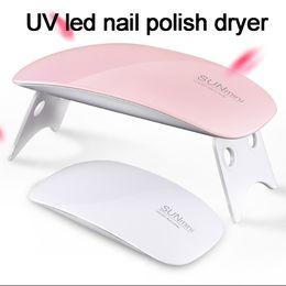 Wholesale Gel Fingernail Polish - NEW led gel nail polishled lamp for drying fingernails UV GEL Curing Light mini uv led nail polish dryer curing light