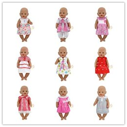 Wholesale Beautiful Baby Toys - 13Sstyle Choose Beautiful Dress Clothes Wear fit 43cm Baby Born zapf, Children best Birthday Gift