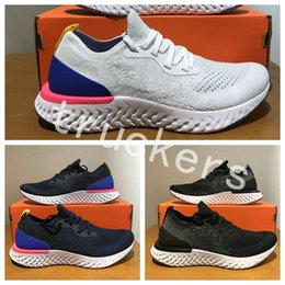 Wholesale Comfortable Running Shoes For Men - 2018 New Epic React Womens Mens Running Shoes Instant Go Fly Breath Comfortable Sport Boost For Men Women Athletic Sneakers Size 36-45