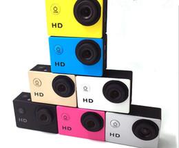 caméra vidéo résistant à l'eau hd Promotion SJ4000 1080 P Casque Sport DVR DV Vidéo Cam Voiture Full HD DV Action Étanche Sous-Marine 30 M Caméra Caméscope Multicolore