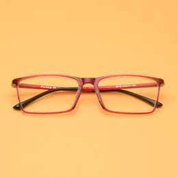 f457a363b6 New Soft Fashion Vintage Glasses Frame Donna Uomo Occhiali da vista Frame  Square Ultra-light Occhiali da vista TR90 Glasses Frame