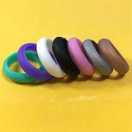 2019 frauen tragen gummi Portable Silikon Ehering Band Gummi Männer Frauen Flexible Mode Exquisite Kreative Ringe Verschleißfest Heißer Verkauf 8xd jj