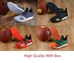 Wholesale sports indoors - 2018 New Harden Vol. 2 MVP Men Basketball Shoes Fashion Sports Multi Color High Quality Indoor and Outdoor Sneakers