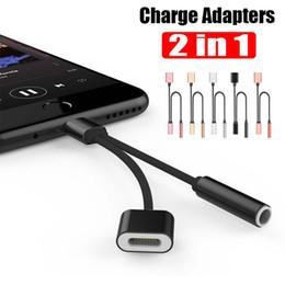 3.5mm 2 in1 musique charge adaptateur audio pour iPhone 7 8 x 10 Plus câble casque écouteurs Splitter Aux Jack chargeur convertisseur livraison gratuite ? partir de fabricateur