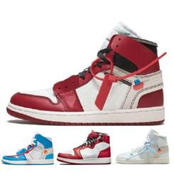 Arrivée hors OG Top 1 Hommes Noir Or 1s Sneakers Haute Qualité NUC Outdoor Trainers Hommes Blanc Chaussures De Course Chaussures De Basket-ball ? partir de fabricateur