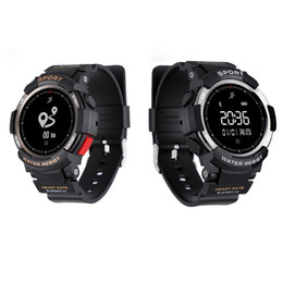 Wholesale Vibrating Bluetooth - Smart Watch Pedometer For IOS Andorid System Monitoring Bluetooth Alarm Clock OLED Screen Women Mens watches Wristband Vibrating Motor