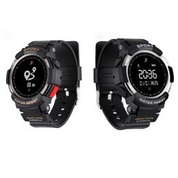 Bluetooth vibrante on-line-Relógio inteligente pedômetro f6 para monitoração do sistema andorid bluetooth despertador tela oled mulheres mens relógios pulseira pulseira de motor