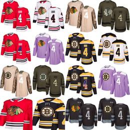 a8b76b6b8 ice hockey practice jerseys Coupons - 2018 Custom New Chicago Blackhawks Boston  Bruins 4 Boddy Orr
