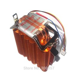 Wholesale Amd Processor Am3 - 4 Pin Desktop Computer PC 2 heatpipe Universal CPU Cooler computer CPU fan lga755 LGA1150 1155 1156 1366 AM2 AM3