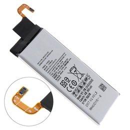 Ersatzbatterie für samsung handy online-EB-BG925ABE 3.85V 2600mAh Telefon Eingebauter originaler Li-Ion Ersatzakku mit Batteriezellen PTC-Schutz für SAMSUNG S6 RRP_10H