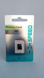 Wholesale micro sd package - NEW Silver packaging 32GB 64GB 128GB 256GB Micro SD Class10 Memory Card for Mobile Phone   Smartphone