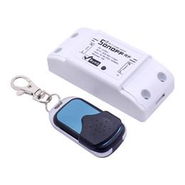 Sonoff 433 Mhz Ricevitore RF RF WiFi Interruttore intelligente Interruttore Intelligente Controllo remoto senza fili Per Smart Home Interruttore luce Wi-fi supplier remote light switch 433mhz da interruttore remoto 433mhz fornitori