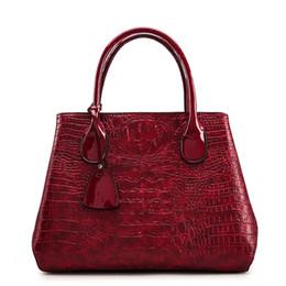 4693c87b76cc8 Frauen Crossbody Tasche Mode Handtasche Casual Tote weibliche Messenger  Bags Schulter Top-Griff Geldbörse PU-Leder 2018 New Black Red