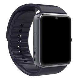Deporte Smart Watch GT08 de los hombres con la cámara grande de la tarjeta de la batería Sim de la pantalla táctil para el teléfono de Android del iPhone del IOS desde fabricantes