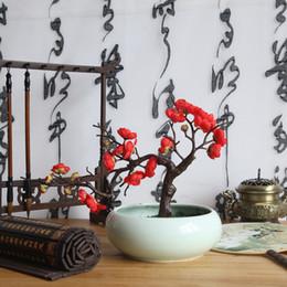 2019 albero fiore fiore ciliegio sakura Prugna fiori di ciliegio fiori di seta artificiale flores rami di albero di sakura tavolo di casa soggiorno decor fai da te decorazione di cerimonia nuziale albero fiore fiore ciliegio sakura economici