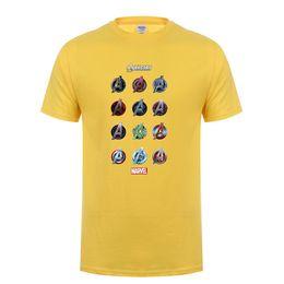 c84f10dc76b0 Neue Mode Marvel Kurzarm T-Shirt Männer Superhero Print T-shirt Oansatz  Comic Marvel Shirts Tops Männer Kleidung T