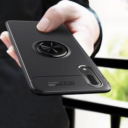 Для Huawei P20 Pro Case автомобильный держатель стенд магнитный кронштейн палец кольцо ТПУ Case для Huawei P20 Lite P 20 Funda Coque Капа от